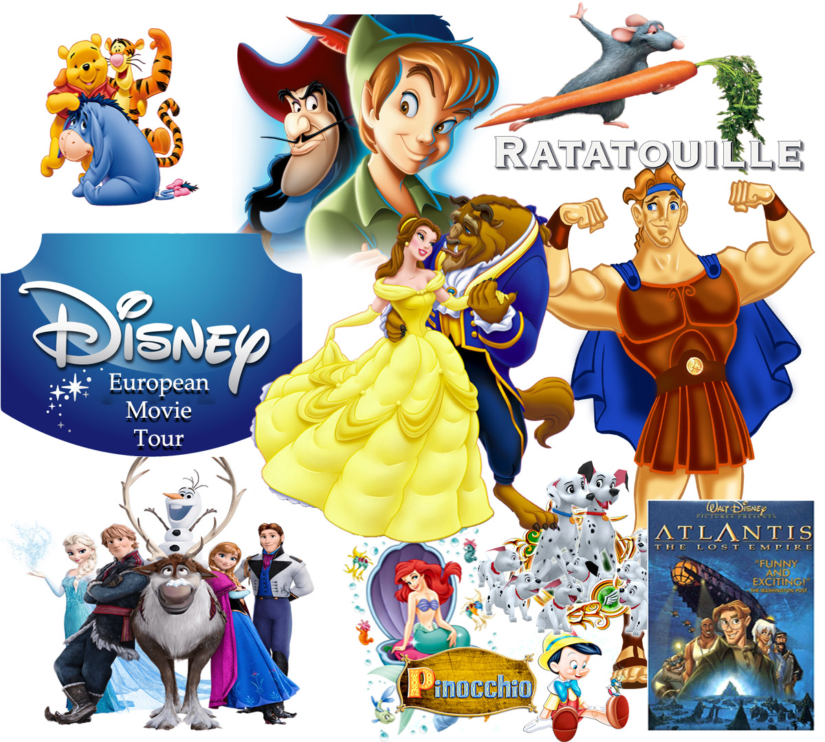 Disney Movies European Tour