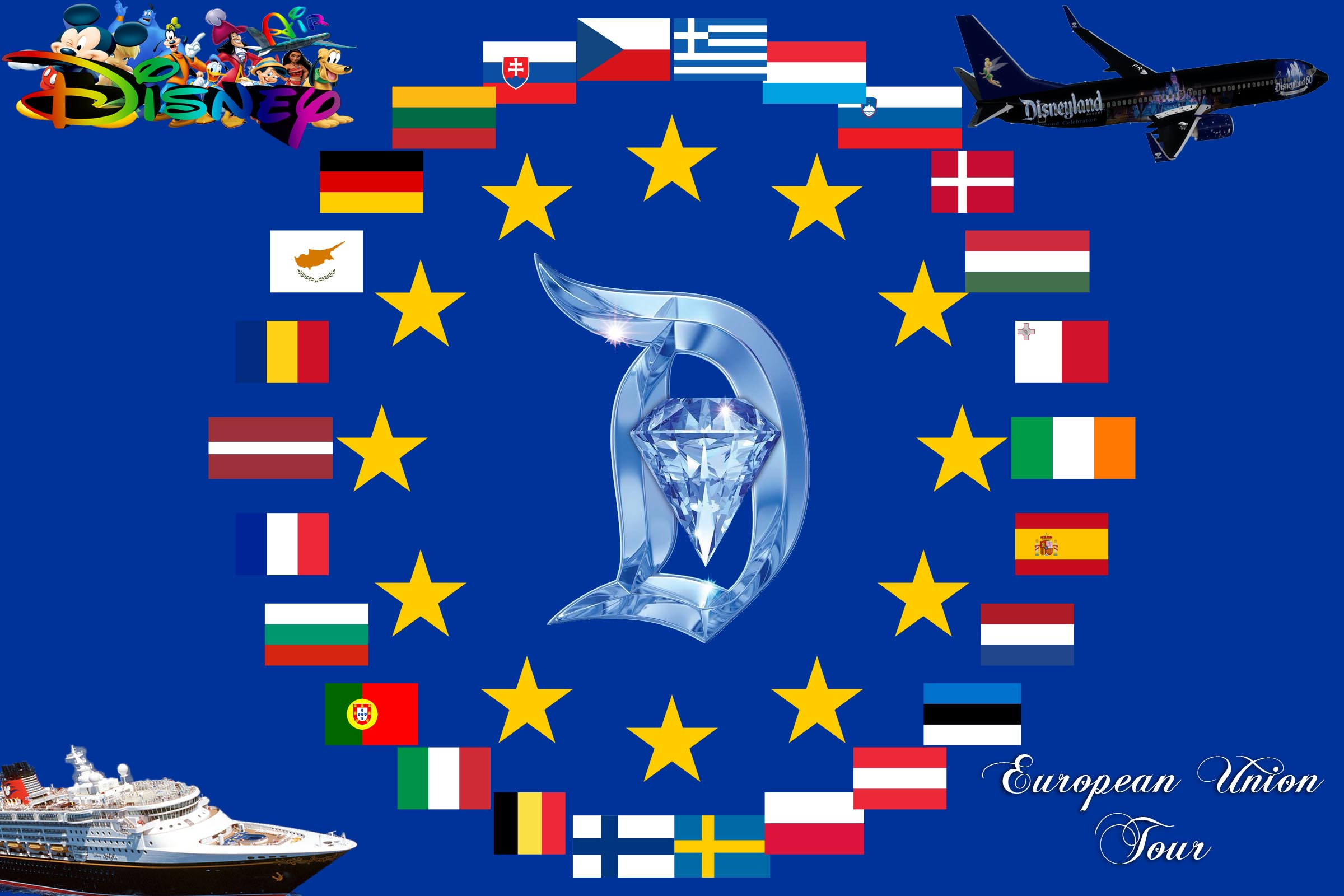 Disney Air's European Union Tour