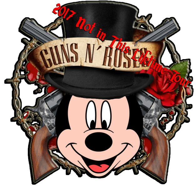 Disney Air's 2017 Guns and Roses Not In This Lifetime Tour