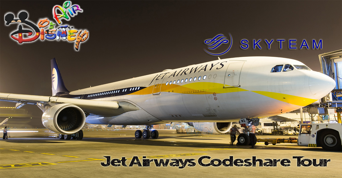 Disney Air's Jet Airways Codeshare Tour