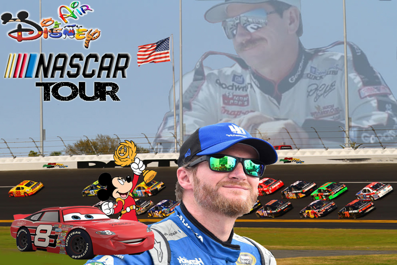 Disney Air's Nascar Tour
