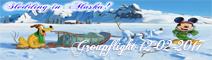 Sledding in Alaska!