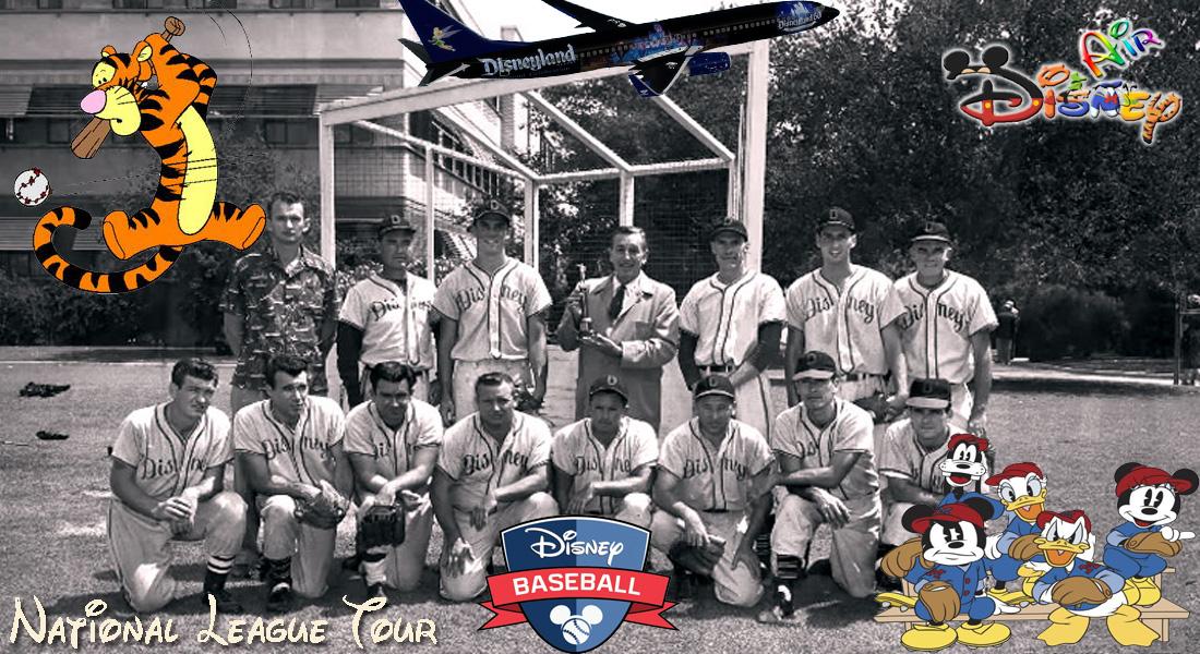 Disney Air's MLB Parks Tour- National League