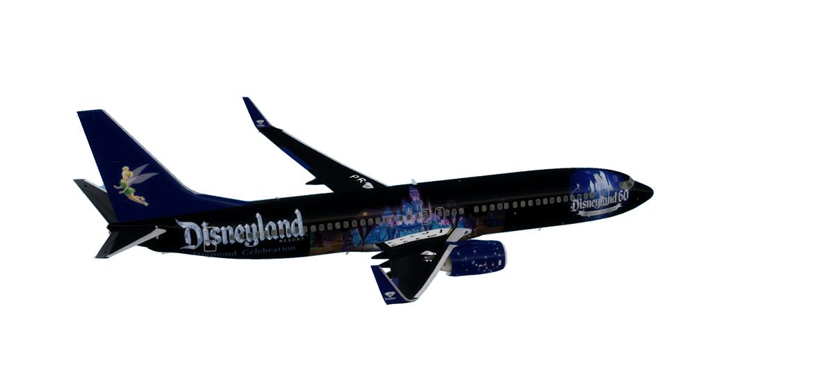 Disney Air 60th Anniversary 737-800NGX
